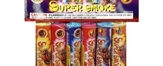 GREAT GRIZZLY SUPER SMOKE 6 COUNT