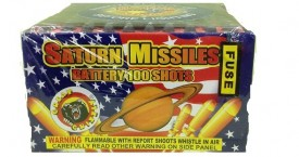 GREAT GRIZZLY SATURN MISSLE BATTERY 100 SHOT