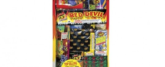 RED DEVIL TRAY