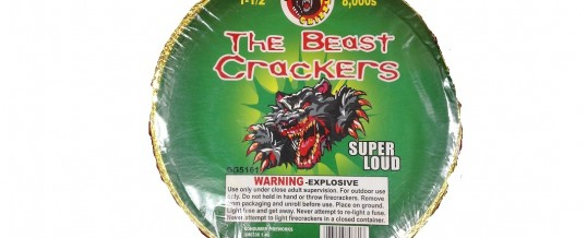 THE BEAST CRACKERS
