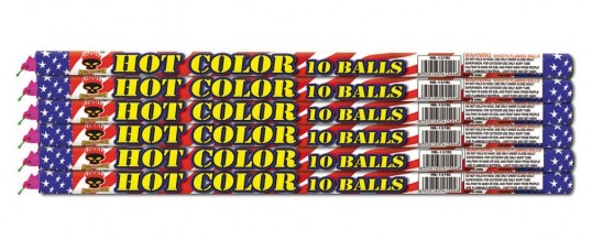 HOT COLOR 10 BALLS