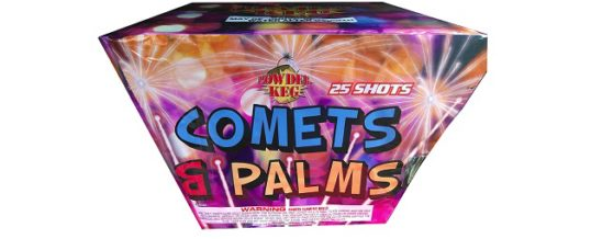 COMETS AND PALMS