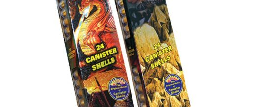 QUEST 24 CANISTER SHELLS