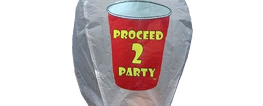 PROCEED TO PARTY SKY LANTERN